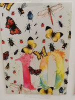 Födelsedagskort 10 år, My Feldt