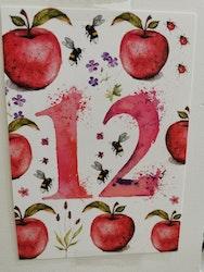 Födelsedagskort 12 år, My Feldt