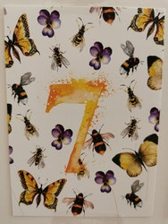 Födelsedagskort 7 år, My Feldt
