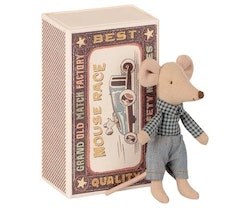 Maileg - Little brother mouse in matchbox