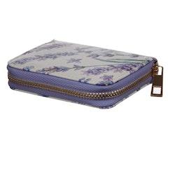 Liten Plånbok med Dragkedja, Lavendel