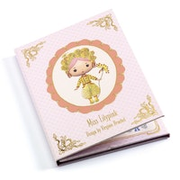 Flyttbara stickers -Miss Lilypink