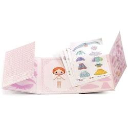 Flyttbara stickers -Miss Lilyruby