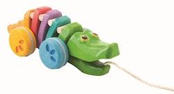 Dragdjur Alligator Regnbågsfärg