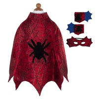 Spider Cape with Mask and Cuffs