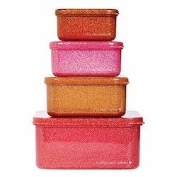 Box 4 pack (Glitter höstfärger)