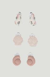 Kongeslojd earclips 3-pack