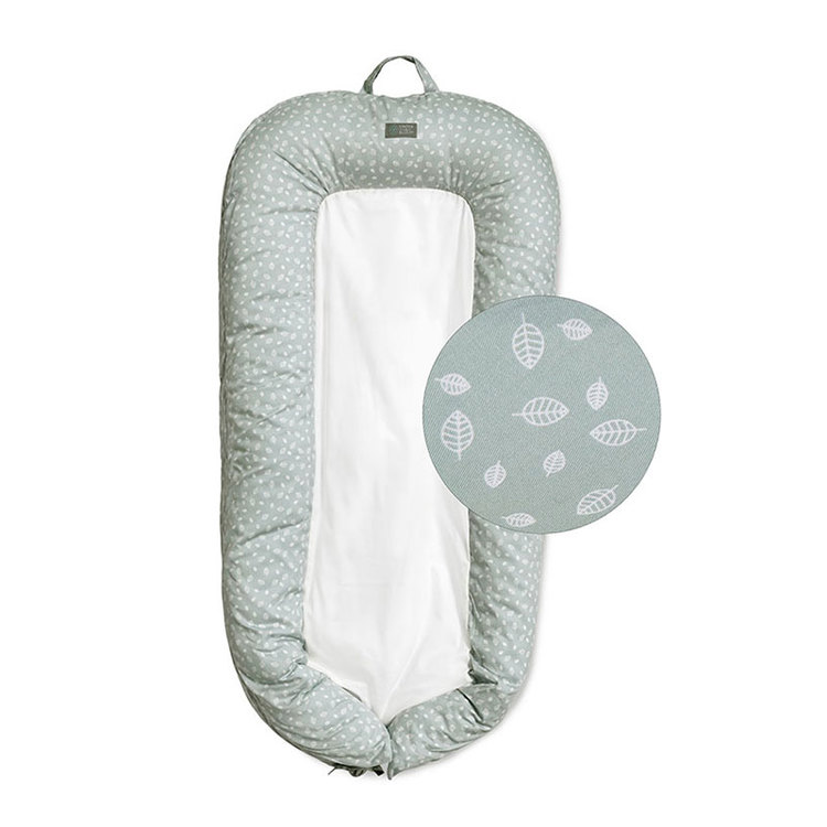 Baby Sleep Nest Nordic Leaf