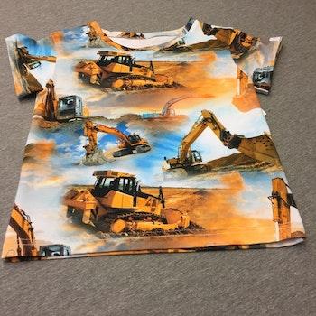 505 T-shirts Bulldozer & grävskopa