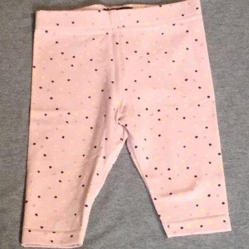 829 Leggings Prickar på rosa botten