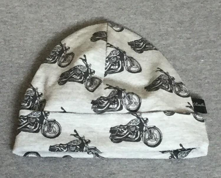 Motorcyklar vit botten