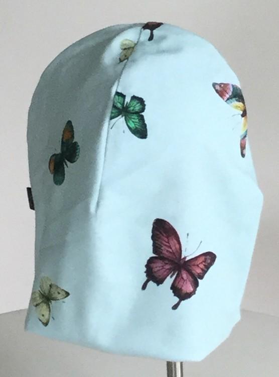Fjärilar grön botten