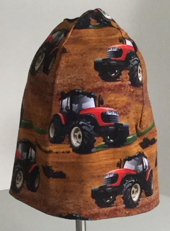 Traktorer brun botten