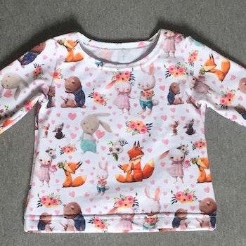 353 T-shirt Mjukisdjur med hjärtan