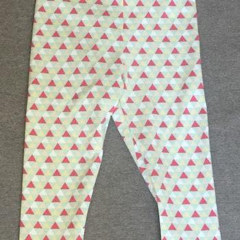 428 Leggings Flerfärgade trianglar