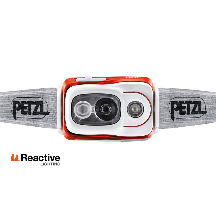 Petzl SWIFT RL Orange, 900 Lumen