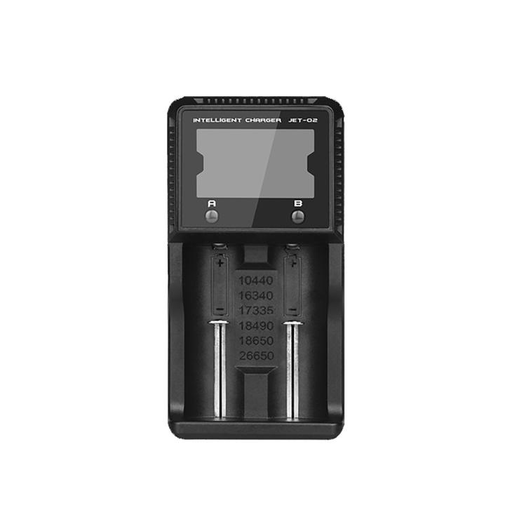 Niteye Intellicharge Q2 Digital Display Batteriladdare Universal