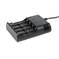 Niteye Intellicharge i4 Batteriladdare universal