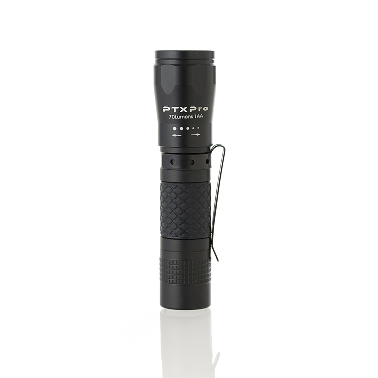 PTX Pro Ficklampa, 1AA 70 Lumen, fokus