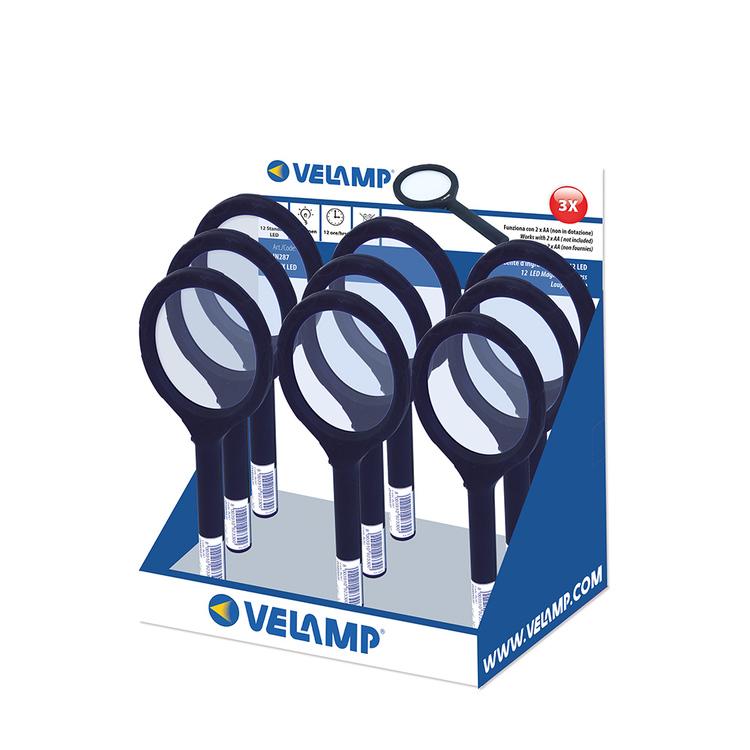 Velamp Förstoringsglas 3x LED