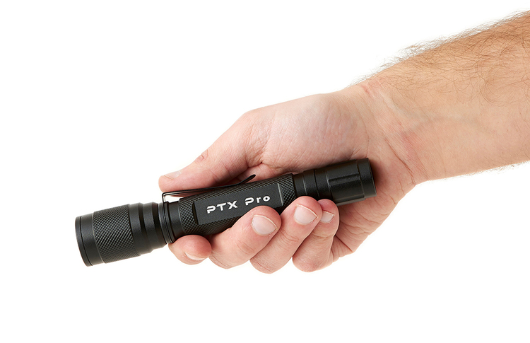 PTX Pro 2AA, 200 Lumen Fokus