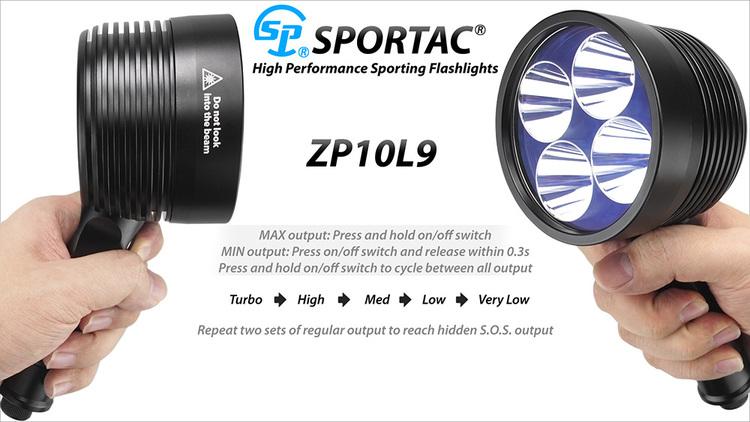 EAGTAC-SPORTAC ZP10L9, 5200LM 12V
