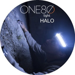 ONE80Light Halo 180° Laddbar, 360 Lumen