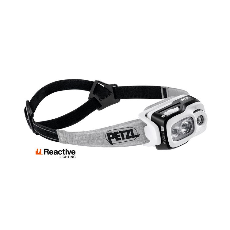 Petzl SWIFT RL Svart, 900 Lumen