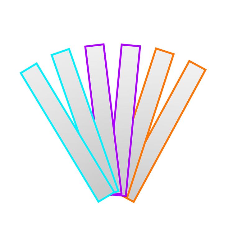 Reflex Slap Wrap PVC fri