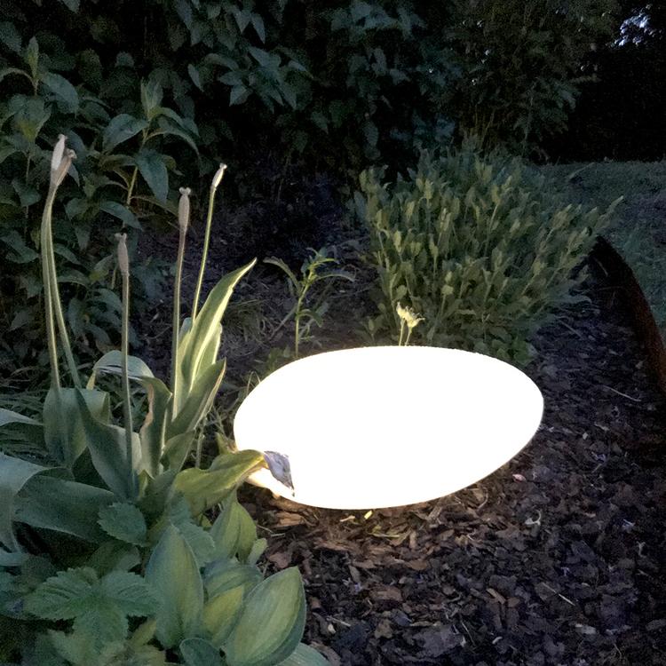 Velamp Solcellslampa Stone