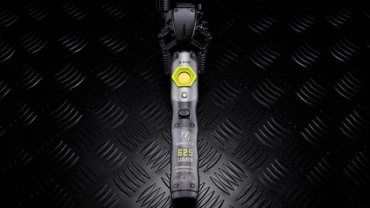 Unilite IL-625R inspektionslampa 625 Lumen + UV USB