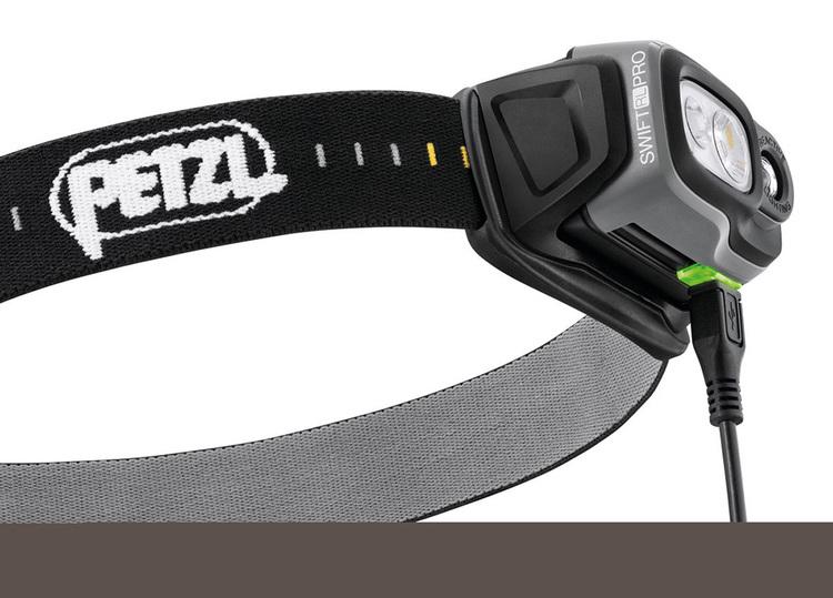 Petzl SWIFT RL PRO Svart, 900 Lumen
