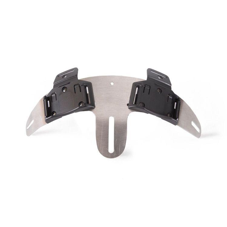 LEDX Hjälmbåge för endurohjämar, fäste för två lampor