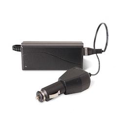 LEDX LADDARE 12 V (CIGARETTUTTAG) FÖR LEDX STORA BATTERIER (10,8 V)