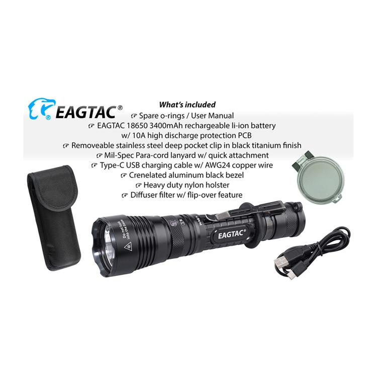 EAGTAC G3L Pro, 3200 Lumen