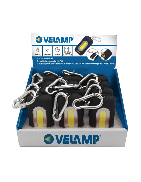 Velamp Nyckelringslampa 100 Lm COB LED Magnet