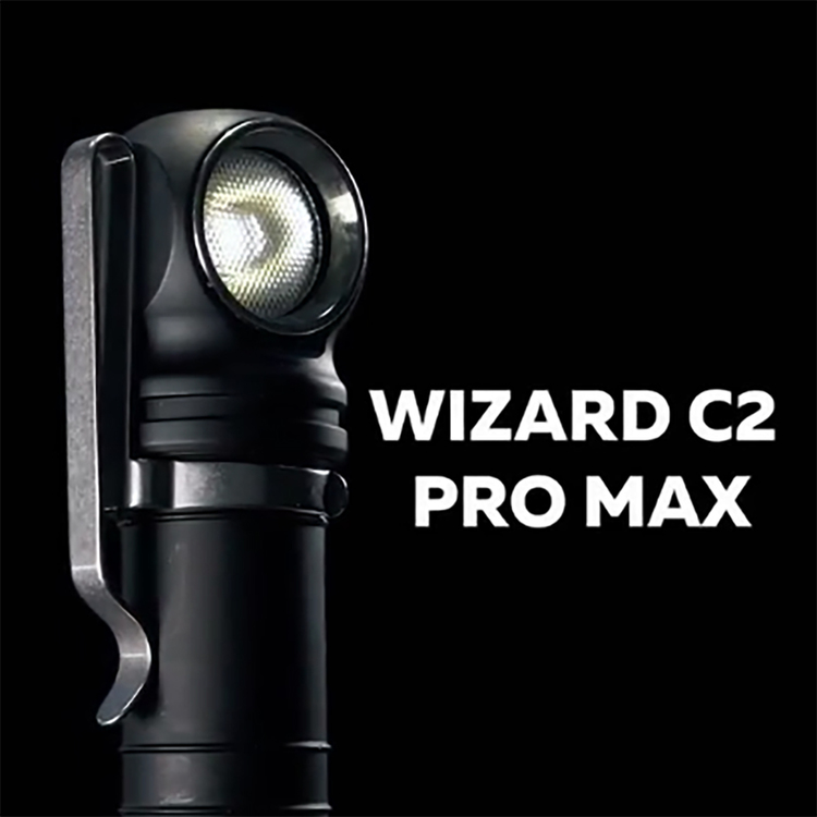 Armytek Wizard C2 Pro Max Magnet laddning 4000 Lumen