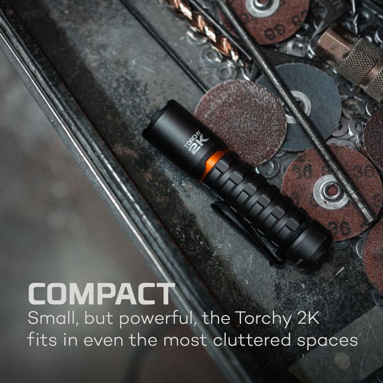 NEBO Torchy 2K, 2000 Lumen
