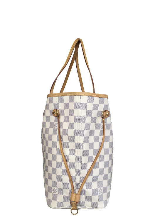 louis vuitton neverfull mm damier azur. louis vuitton neverfull mm damier azur mm s
