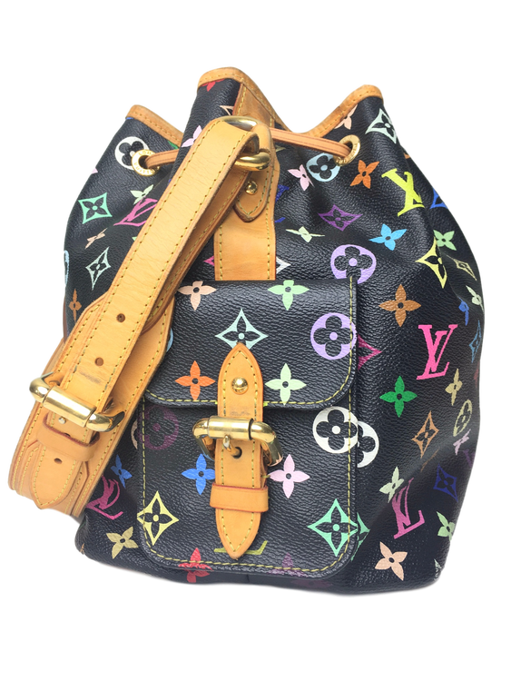 28eb0792d8162 LOUIS VUITTON Multicolor Petit Noe Noir - GOUGOU COLLECTION
