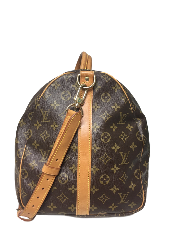 6841d60e892c LOUIS VUITTON Monogram Canvas Keepall Bandoulière 55 - GOUGOU COLLECTION