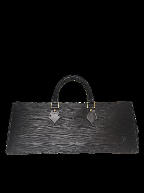 52c092fd7c6 Louis Vuitton Black EPI leather Sac Triangle - GOUGOU COLLECTION