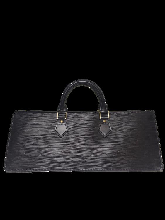 8903fa9ecc69 Louis Vuitton Black EPI leather Sac Triangle - GOUGOU COLLECTION