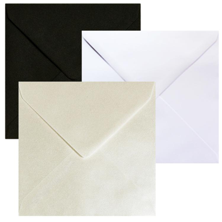 Kuvert kvadratiska 155x155mm