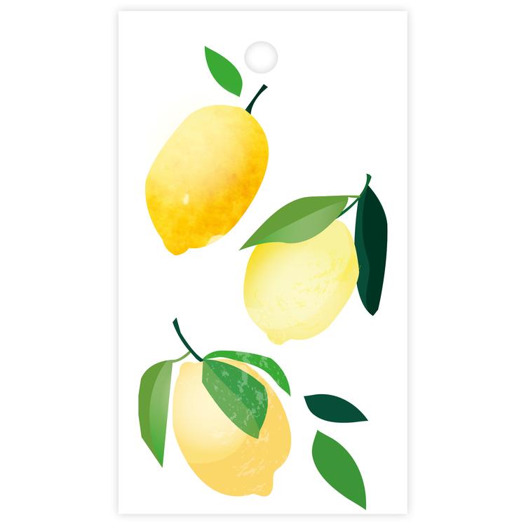 Litet kort - citroner