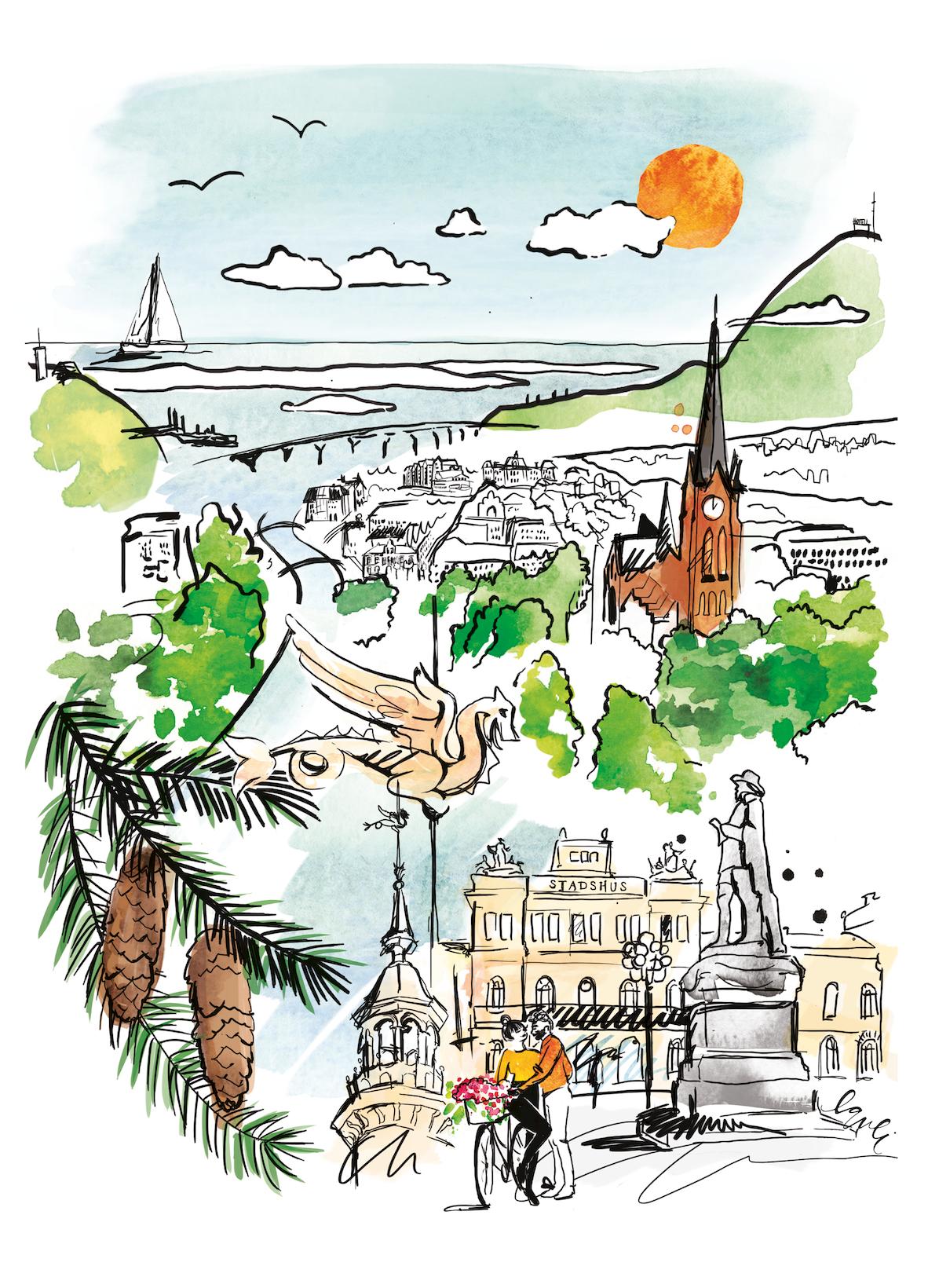 Sundsvall - Staden mellan bergen