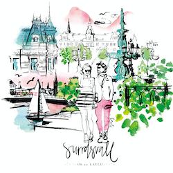 Sundsvall - stadspromenad