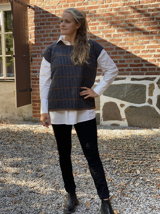 Cambio marinblå jeans Parla
