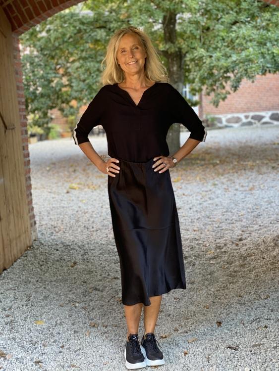 Summum lång kjol, svart