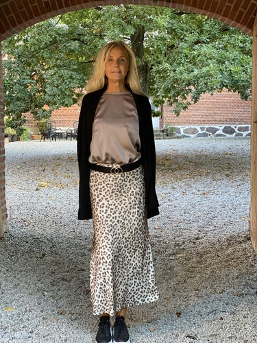 Oui leopardkjol